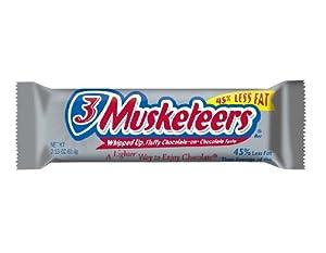 3 Musketeers Bar 2.13 OZ (60.4g)