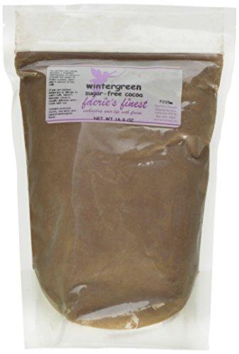 Faeries Finest Sugar-Free Cocoa, Wintergreen, 16 Ounce