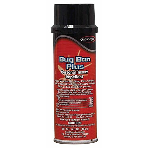 Quest Specialty 435001 Bug Ban Insect Repellent, 6 oz Aerosol (Quest Bug Ban compare prices)