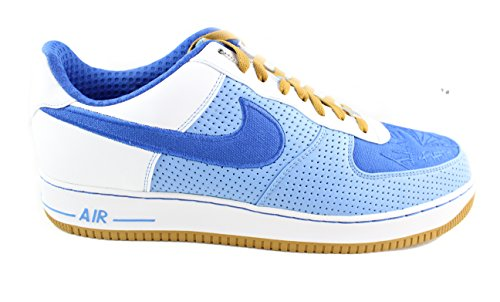 Nike Mens Air Force 1 07 Premium Philly Down North 315180-441 University  Blue Size