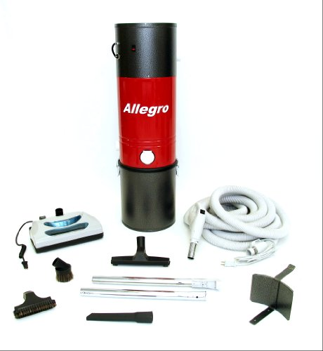 Allegro Central Vacuum MU4100 3,000 sq. ft. Unit and 30 ft Hose and Powerhead Kit (Husky Tools Warranty compare prices)