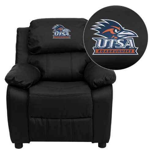 Astonishing Flash Furniture Texas At San Antonio Roadrunners Embroidered Onthecornerstone Fun Painted Chair Ideas Images Onthecornerstoneorg
