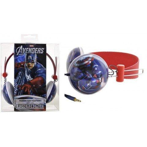 Marvel Overhead Stereo Headphones - Avenger Captain America