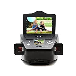 SVP 3-in-1 Multi-function Stand-Alone Image and Slide Scanner (Black - 22 Megapixel (PS-9790))