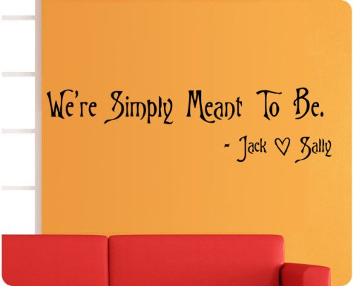 Wall Decal - We're Meant to Be