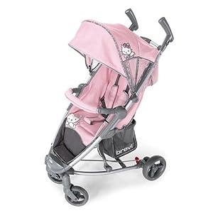 stroller ginger hello kitty 022 pink brevi baby. Black Bedroom Furniture Sets. Home Design Ideas