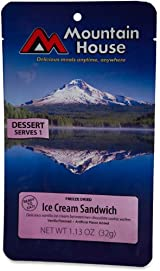 Mountain House Ice Cream Sandwich - 1 Serving