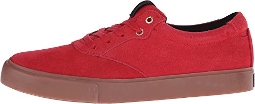Creative Recreation Men's Prio Fashion Sneaker, Red Gum, 10.5 M US