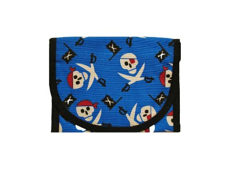 Resnackit Reusable Sandwich and Snack Bag, Blue/Red/Black - 1
