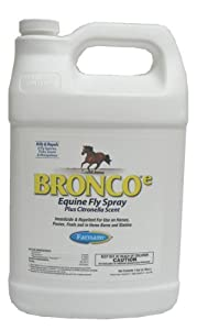 Farnam Home and Garden 100502327 Bronco Equine Spray Refill with Citronella Scent, 1-Gallon