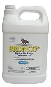 Farnam Home and Garden 100502327 Bronco Equine Spray Refill with Citronella Scent, 1-Gallon