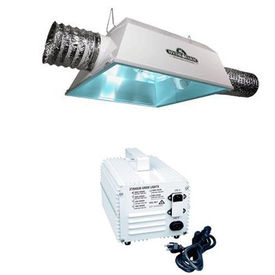 Hydrofarm 1000 Watt HPS Radiant 6AC Economy Grow Light System and PH Control Kit Bundle Pack