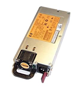 HP 750W Common Slot Gold Hot Plug Power Supply for ProLiant Servers and Storage Systems. Mfr. P/N: 506822-001.