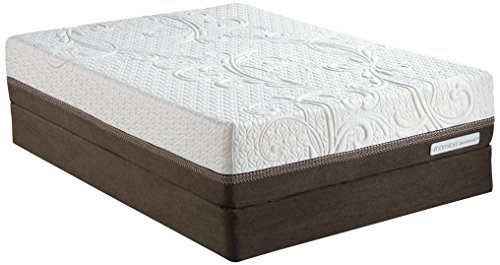 Luxury Home Icomfort Direction Calking Firm Inception Memory Foam Mattress Set By Serta, California King