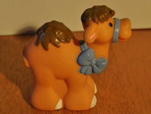 Vintage Little People Camel 2001 Mattel Replacement Figure - Fisher Price Zoo Doll Circus Ark Toy Pet Shop - 1