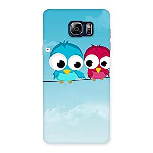 Premium Birds on Wire Back Case Cover for Galaxy Note 5