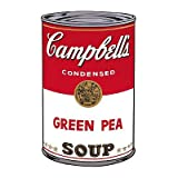 Campbell's Soup I: Green Pea, c.1968 Art Print Art Poster Print by Andy Warhol, 13x19