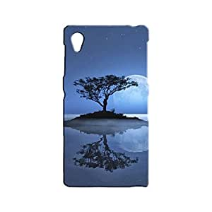 BLUEDIO Designer 3D Printed Back case cover for Sony Xperia Z1 - G0812