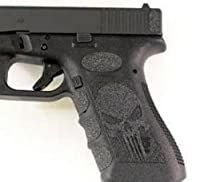 Black Skull Grips For Glock 19,23,25,32,38