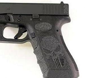 Black Skull Grips For Glock 19,23,25,32,38