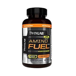 Twinlab Amino Fuel 1000 Body Building Amino Acids, Lean Muscle