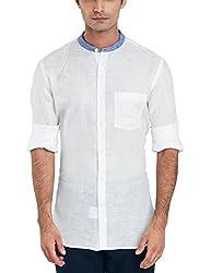 Raymond Men's Casual Shirt (8907253564445_RCSX00655-W0_40_White)
