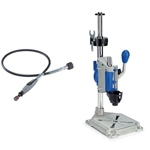 Dremel 225-01 Flex Shaft Attachment with Rotary Tool Work Station