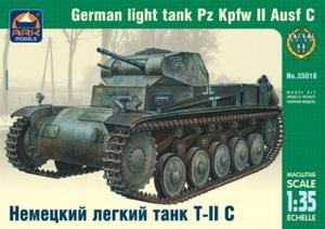 35018 Ark Models 1:35 German light tank PzKpfw II ausfC