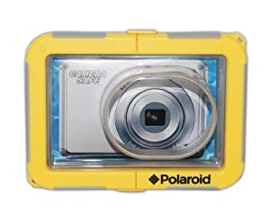 Polaroid Dive-Rated Waterproof Camera Housing For The Sony Cybershot DSC- WX150, WX70, WX50, WX30, WX10, WX9, WX5, W690, W650, W620, W610, W570, W560, W550, W530, W510, W380, W350, W330, W320, W310, S2100, S2000 Digital Cameras