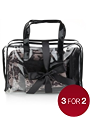 5 Piece Lace Cosmetic Bag Set