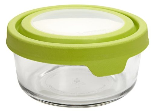 Anchor Hocking 2 Cup Round TrueSeal Glass Storage Container Sold in packs of 6