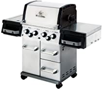 Hot Sale Broil King 956644 Imperial 490 Liquid Propane Gas Grill with Side Burner and Rear Rotisserie