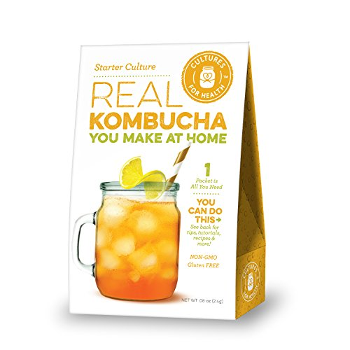 Kombucha Starter Culture (Kombucha Tea Starter Kit compare prices)