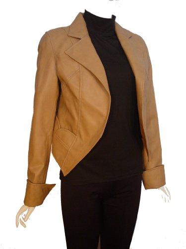 Nettailor FREE tailoring Women PETITE SZ 4072 Leather Bolero Jacket