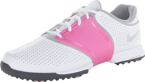 Nike Golf women's Lunar Embellish Golf Shoe,Pure Platinum/Wolf Grey/White,9 M US