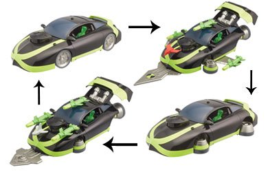 Ben 10 Ultimate Alien Ben's Mark 10 Car