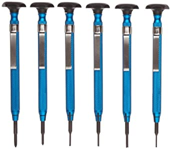 Moody Tools 58-0670 6-Piece Slot/Phil/Screw Extractor Combo Reversible Driver Set