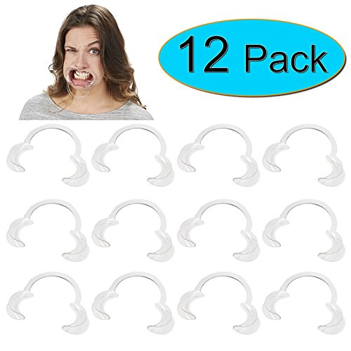 BEST PRICE 12 x Extra Replacement Mouthpieces For Speak Out Mouthguard Challenge Game