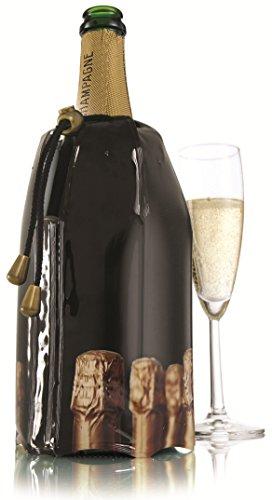 Vacu Vin Rapid Ice Champagne Cooler - Bottles Design (Champagne Cooler compare prices)