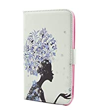 """buy Samsung Galaxy Tab4 7.0"""" T230 Wallet Case,Mouse Monster Case For Samsung Galaxy Tab4 7.0"""" T230 Wallet Case Stand Function Flip Pu Leather Shiny Diamonds Embed Elegant Elf Princess And Butterflies Designed Case For Samsung Galaxy Tab4 7.0"""" T230 Gift With 2"""