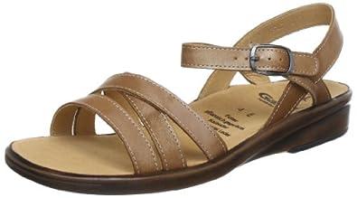 Ganter 5-202820-11000, Sandales femme - Marron (Camel 1100), 39 EU