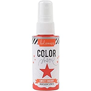 Heidi Swapp Color Shine Bottles for Crafting, Cherry
