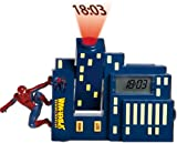 Spiderman Alarm Clock With Projector