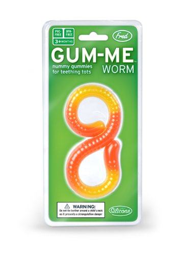 Gum-me Teether - Worm