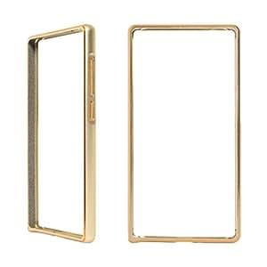 DMG Luxurious Aluminium Metal Bumper Case For Xiaomi Redmi Note (Golden)