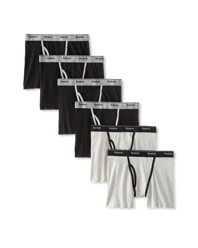 Reebok Men's Stretch Boxer Briefs - 6 Pack
