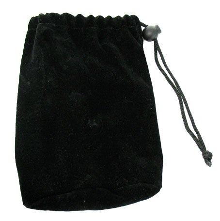 Buy Bargain Motorola OEM Multipurpose Black Velvet Pouch with Drawstring for storing Car Charger, Tr...