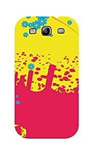 SWAG my CASE Printed Back Cover for Samsung Galaxy S3