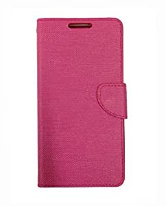 Fabson Flip Cover for Asus Zenfone Max (ZC550KL) Flip Cover Case - Pink
