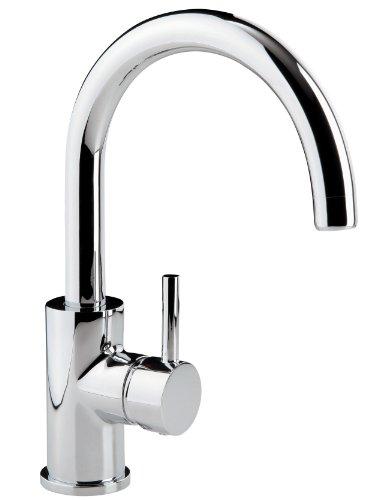 Einhandmischer Lago für Waschtisch | Hebel seitlich | Chrom | Wasserhahn | Einhebelmischer